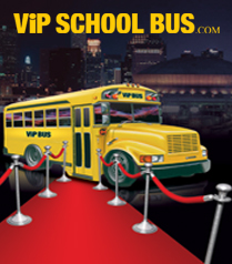 David Jeansonne ViP School Bus