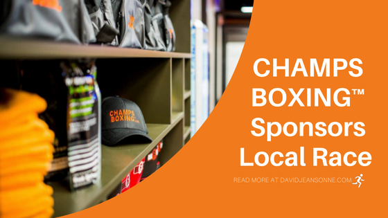 CHAMPS BOXING™️ Sponsors Local Race | David Jeansonne