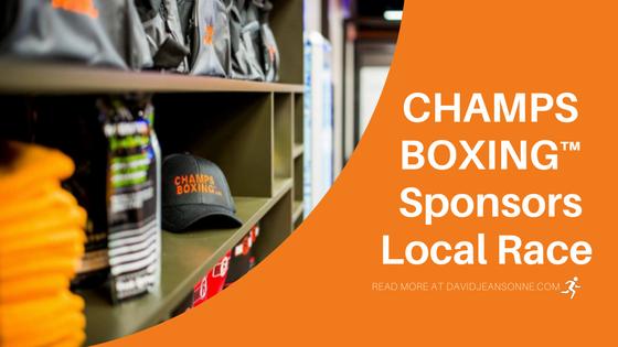 CHAMPS BOXING™️ Sponsors Local Race | David Jeansonne